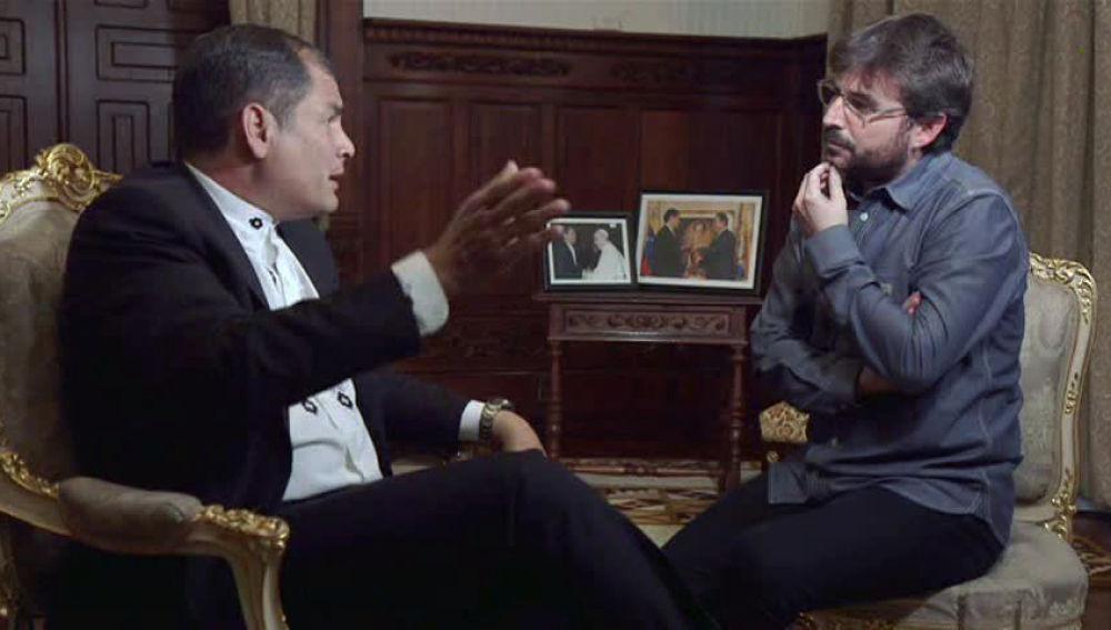 El día que el corrupto Rafael Correa dio lecciones de ética a un blando Jordi Évole y se comparó con Pablo Iglesias