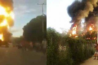 Fracaso socialista: Explosión de una planta de gas de PDVSA causa pánico en la Venezuela chavista