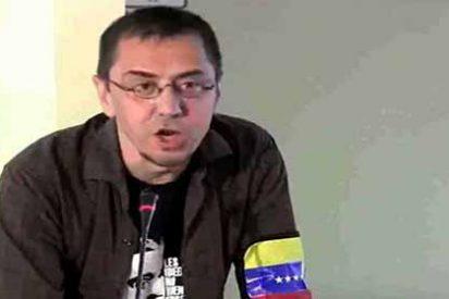 El hipócrita Monedero que pone 'las manos al fuego' por Maduro y Evo Morales embiste contra Felipe VI por hablar de democracia en Cuba