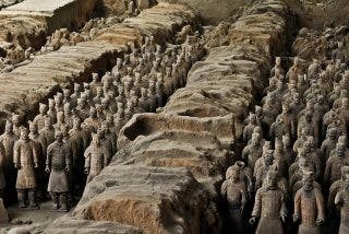 ¿Qué inconfesable secreto ocultan los guerreros de terracota chinos?