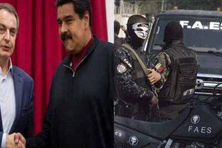 Asesinatos policiales: el nuevo récord de la dictadura de Maduro en América Latina con el apoyo de Zapatero, Monedero y la izquierda internacional
