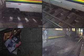 'Sólo en socialismo': Así se descarriló un tren del Metro de Caracas que dejo a 8 pasajeros heridos
