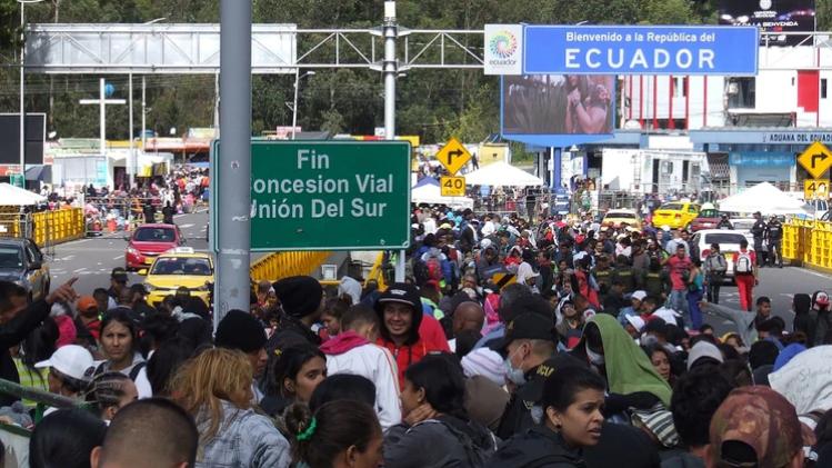 Terror a la dictadura: Más 13.000 venezolanos huyeron a Ecuador