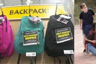 Protección antibalas: Tiroteos en EEUU disparan las ventas de mochilas blindadas en el regreso a clases