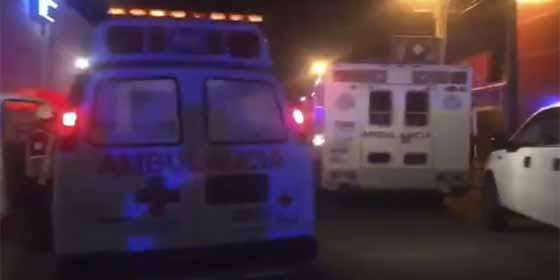 Se tomaban las cañitas en un bar de Veracruz y una bomba molotov dejó 26 muertos y 11 heridos