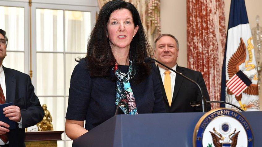 Renuncia Kimberly Breier, la principal diplomática de EEUU para América Latina