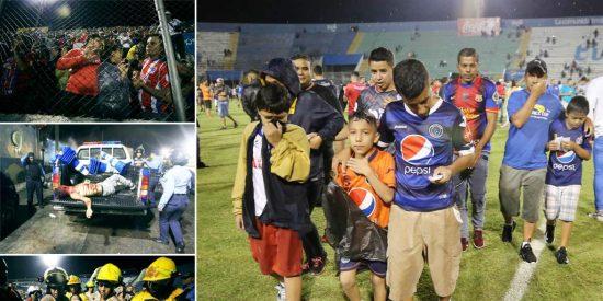 Honduras estrena su liga de fútbol con tres muertos en su estadio principal