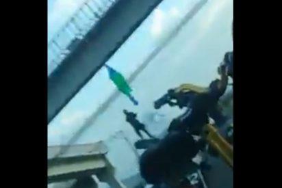 Vídeo: Un grupo de élite del narcotráfico cuelga a dos desventurados de un puente