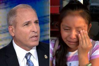 """El jefe de 'La Migra' responde a la niña inmigrante que lloró por la deportación de su papá: """"Entiendo que esté triste, pero su padre cometió un crimen"""""""