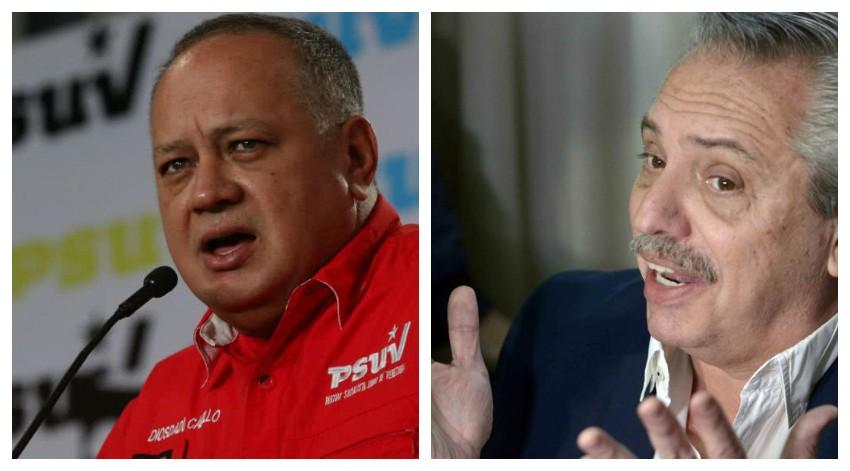"""El chavismo intenta fichar al 'títere' de Kirchner: """"Podemos contra el imperio si nos mantenemos unidos. De la Patagonia al Río Grande"""""""
