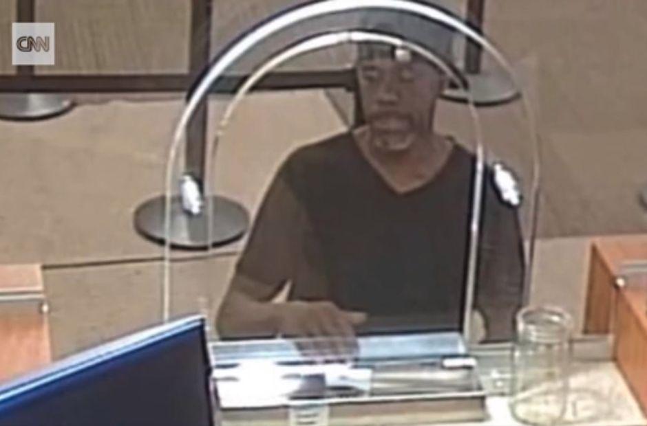 La curiosa nota que usó un ladrón para robar un banco de EEUU