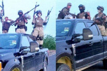 Las sesiones de fotos de los narcos mexicanos antes de enfrentarse a sus enemigos o con la policía