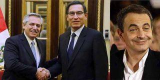 """""""Dan asco"""": Presidente de Perú se reúne con el kirchnerista Alberto Fernández y proponen el regreso de Zapatero a su chiringuito bolivariano"""