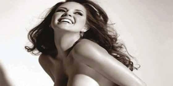 """La sensualidad de la ex Miss Universo Alicia Machado en una imagen que recuerda su paso por """"La Granja VIP"""""""