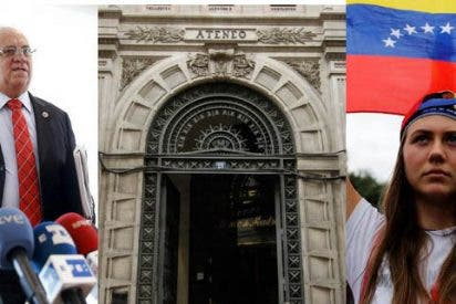 Venezolanos responden al comunicado a favor del 'show' chavista del Ateneo de Madrid: