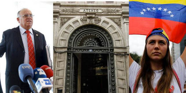 """Venezolanos responden al comunicado a favor del 'show' chavista del Ateneo de Madrid: """"No haremos lo que un grupo de radicales quiera imponer"""""""