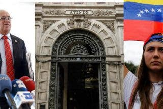 Contraofensiva contra el Ateneo de Madrid y su acto prochavista: Convocan a una manifestación para frenar a los cómplices de Maduro