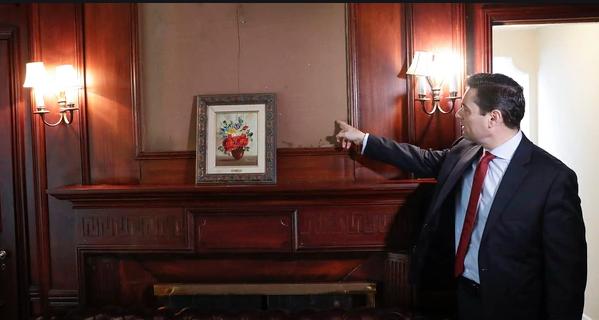 Funcionarios chavistas se robaron las obras de arte más costosas de la embajada venezolana en Washington