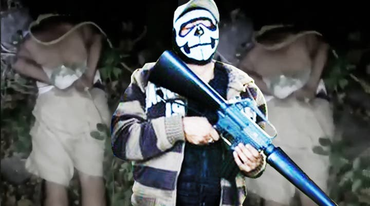 Así tortura 'El Joker de México' a un miembro de una banda rival