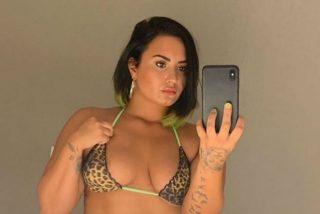 Demi Lovato vuelve al ataque: todas sus dimensiones sin filtros ni edición (ojo a los comentarios)