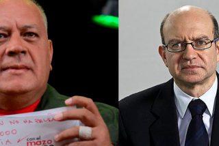 Diosdado Cabello 'carga' contra el ABC y Emili J. Blasco por destapar la ruta del dinero del narcotráfico mexicano a las cuentas chavistas