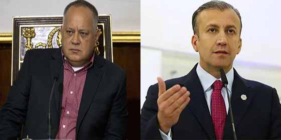 Destapan trama chavista que lleva el dinero del narcotráfico mexicano a cuentas de Diosdado Cabello y Tareck El Aissami en Rusia