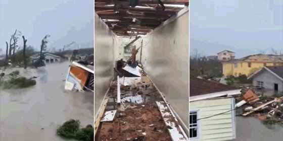 Siete muertos y más de 20 heridos en Las Bahamas tras el paso del brutal huracán Dorian
