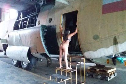 A prisión la prostituta que posó semidesnuda en una base militar del chavismo