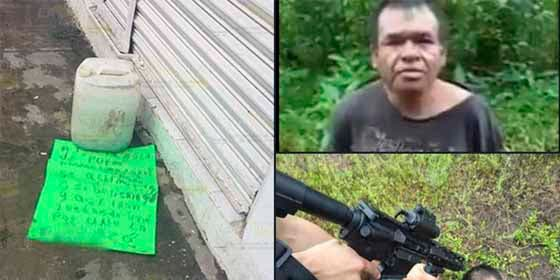 Terrorífico: Miembros del Grupo Sombra (amiguitos de 'El Marro') decapitan a un sicario del Cártel del Golfo
