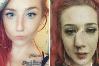 Un salvaje golpea a una concursante de belleza y la deja desfigurada