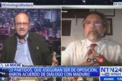 """""""Pobre diablo"""": Repundian por """"homófobo"""" a uno de los 'chavistas disfrazados' que firmó el pacto con Maduro"""