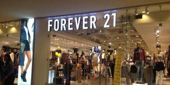 La famosa cadena de moda Forever 21 se declara en bancarrota