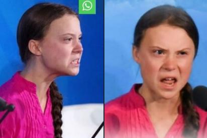 """Palos a Greta Thunberg por sus expresiones guerrilleras en la ONU: """"Tu cuerpo está en tinieblas"""""""