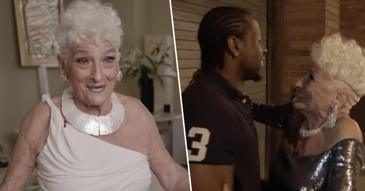 La abuela 'cachonda': Tiene 83 años y un perfil de Tinder para sexo casual con yogurines