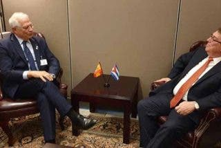Manual de hipócritas socialistas: Borrell hace gala de su mísera 'doble cara' en una reunión con el canciller de la dictadura cubana