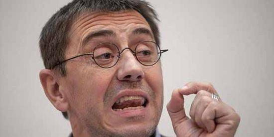 """El """"hipócrita"""" Monedero pide a la Unión Europea que intervenga en Ecuador: """"Ya van muchas muertes"""""""