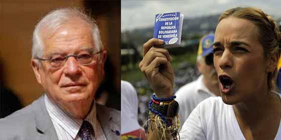 """Lilian Tintori desvela que 'le cantó las 40' al tibio Josep Borrell en una reunión: """"Le dije que la embajada no es una cárcel"""""""