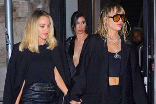 Mucha bomba y poco chicle: La inestable Miley Cyrus ya rompió con Kaitlynn Carter
