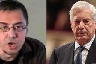 Monedero se encara contra Vargas Llosa y El País por atacar a sus 'socios bolivarianos', pero sale con las tablas en la cabeza