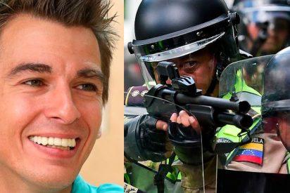 """'Zasca' al concejal de Más Madrid que atacó la propuesta de Almeida de dotar con armas táser a la policía: """"os van más los métodos chavistas"""""""