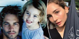 La sensual hija de Paul Walker vuelve a los bikinazos