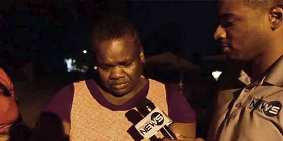 El dolor de la abuela de un niño de 8 años en Las Bahamas: su nieto es la primera víctima mortal del huracán Dorian