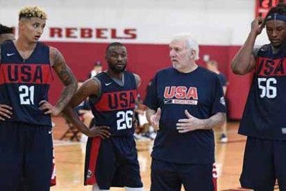 El jefe del 'Dream Team' explotó contra los NBA que no fueron al mundial de China