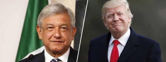 """Donald Trump felicita a López Obrador por ser su mejor muro antiinmigrantes: """"Ha sido fantástico"""""""