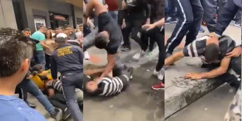 Vídeo: Dos venezolanos fueron atrapados en pleno robo en Colombia y por poco los linchan