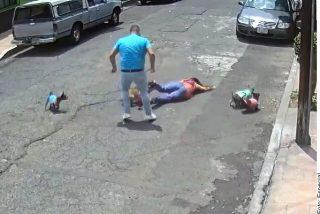 Vídeo: Un macarra ataca a mujer por pasear su perro cerca de él