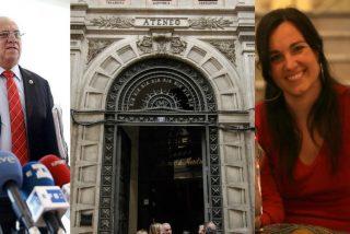 Exclusiva PD: Embajada bolivariana ficha a los 'barra brava' de Podemos e IU para escoltar a Mario Isea en el 'show' chavista del Ateneo de Madrid