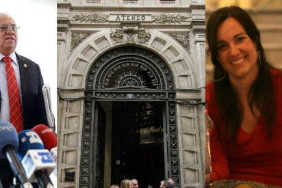 Las grandes mentiras del comunicado bolivariano para intentar justificar el 'show' chavista del Ateneo de Madrid