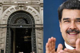 """Exclusiva PD / El Ateneo de Madrid hace la vista gorda a la masacre en Venezuela: """"El acto de Isea no se cancelará. Si no les gusta, lo siento mucho"""""""