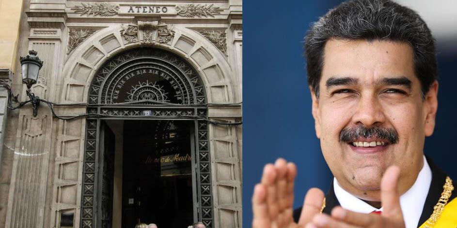 El Ateneo de Madrid se arrodilla ante el chavismo: La Embajada 'expropió' todo el edificio y sólo dejó entrar a los 'amiguetes' de Mario Isea